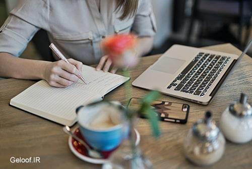 نوشتن برنامه کاری روزانه