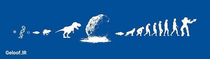 تئوری تکامل داروین